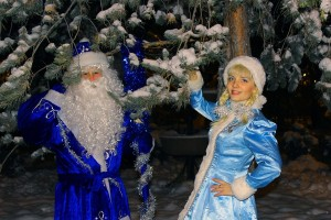 30 Дед Мороз со Снегурочкой